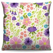 Almofada Estampada Colorida Florata Flores 273