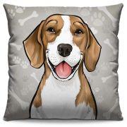Almofada Estampada Colorida Pets Beagle 289
