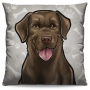 Almofada Estampada Colorida Pets Labrador 291