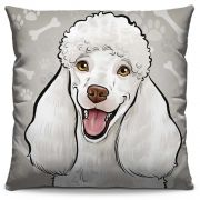 Almofada Estampada Colorida Pets Poodle 296