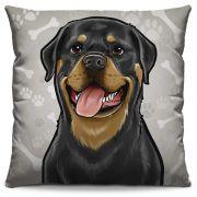 Almofada Estampada Colorida Pets Rottweiler 298