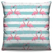 Almofada Estampada Colorida Pop Flamingos 128