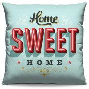 Almofada Estampada Colorida Pop Home Sweet Home 14
