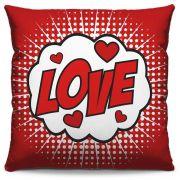 Almofada Estampada Colorida Pop Love 237