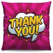 Almofada Estampada Colorida Pop Thank You! 245