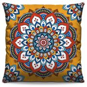 Capa de Almofada Estampada Colorida Classic Mandalas 315