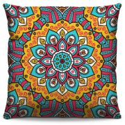 Capa de Almofada Estampada Colorida Classic Mandalas 338