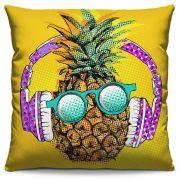 Capa de Almofada Estampada Colorida Pop Abacaxi de Fone 68