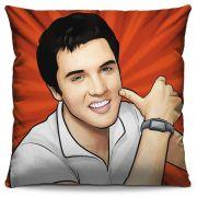 Capa de Almofada Estampada Colorida Pop Elvis Presley 214