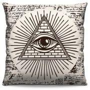 Capa de Almofada Estampada Colorida Pop Olho da Providência 143