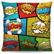 Capa de Almofada Estampada Colorida Pop Quadrinhos 220