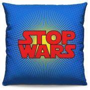 Capa de Almofada Estampada Colorida Pop Stop Wars 234