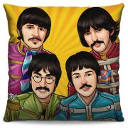Capa de Almofada Estampada Colorida Pop The Beatles 201