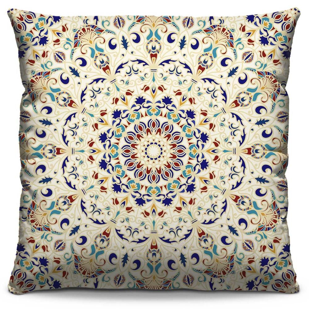 Almofada Estampada Colorida Classic Mandalas 109