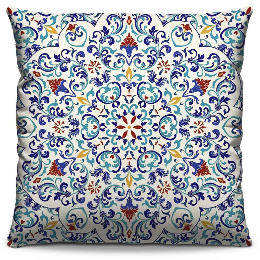 Almofada Estampada Colorida Classic Mandalas 114