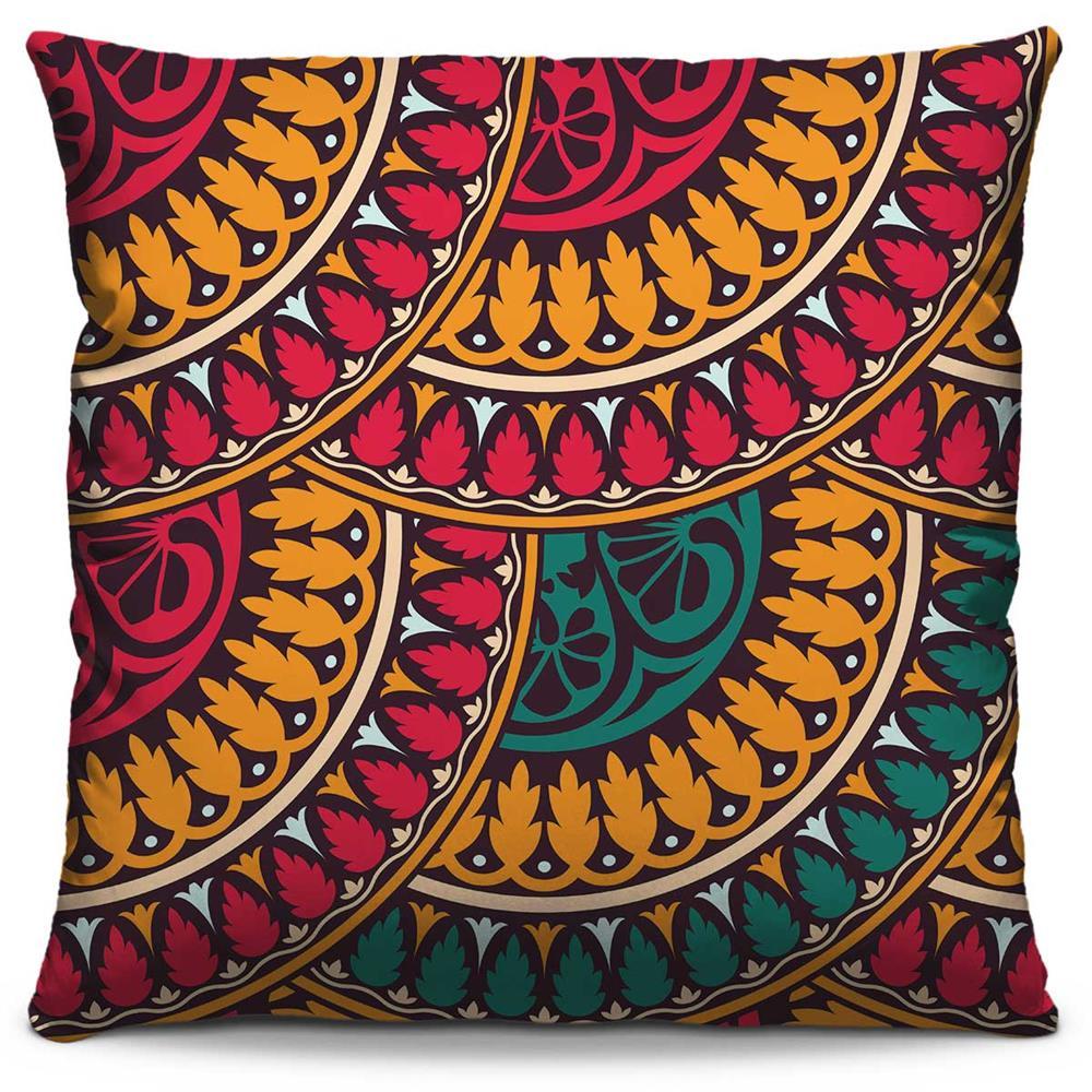 Almofada Estampada Colorida Classic Mandalas 44