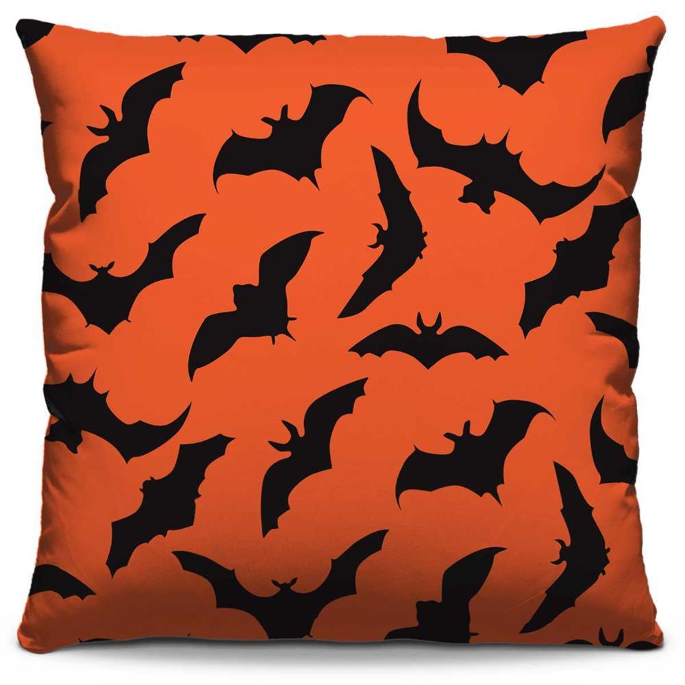 Almofada Estampada Colorida Kids Morcegos 231