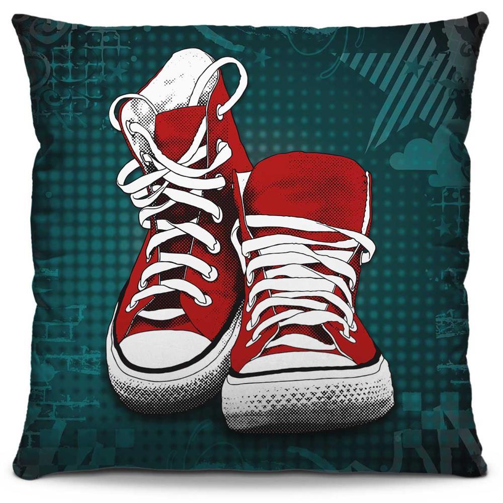 Almofada Estampada Colorida Pop All Star Vermelho 209