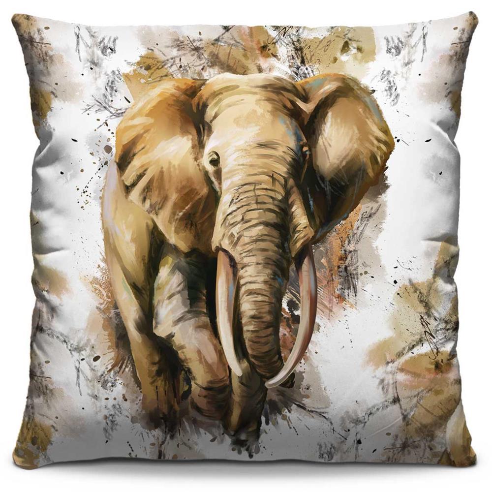 Almofada Estampada Colorida Pop Elefante 206