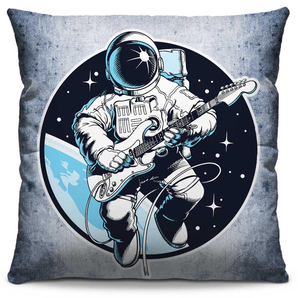 Almofada Estampada Colorida Pop Guitar In The Space 191