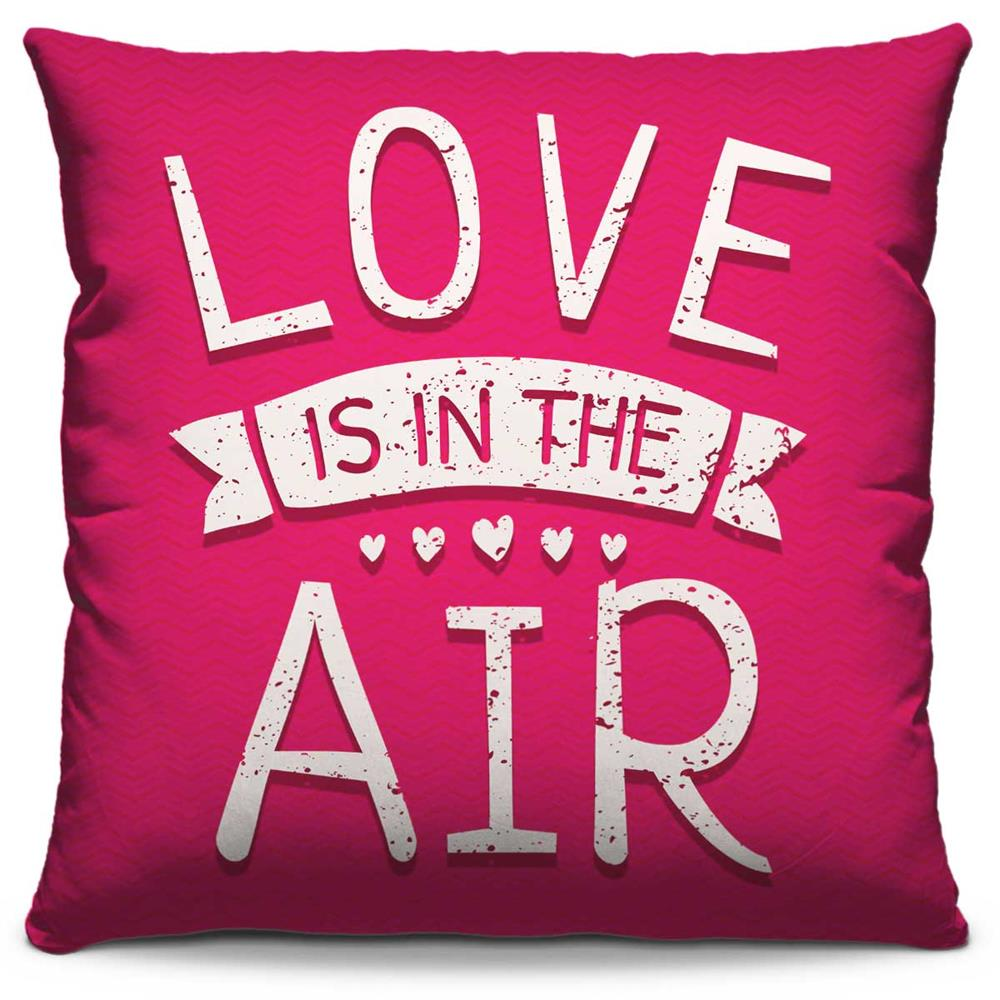 Almofada Estampada Colorida Pop Love Is In The Air 177