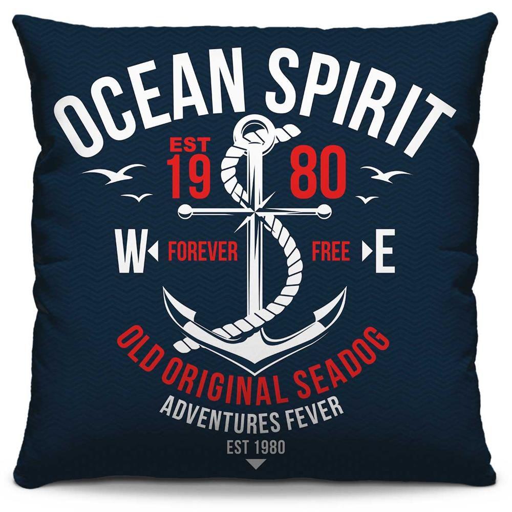 Almofada Estampada Colorida Pop Ocean Spirit 193