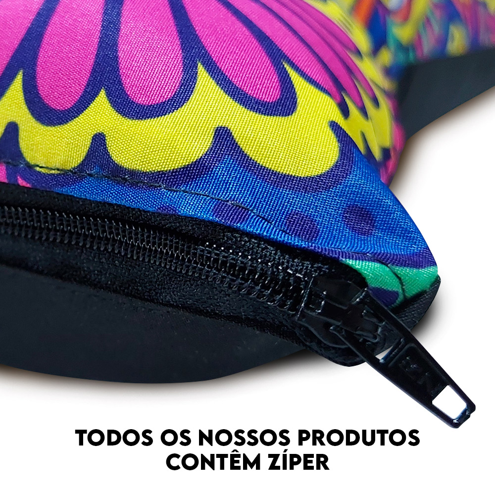 Capa de Almofada Estampada Decorativa 40x40 Natal Boneco de Neve Tons Neutros