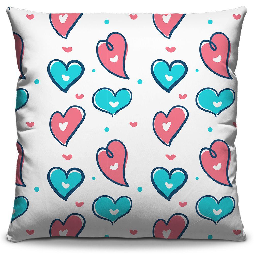 Kit Combo Almofadas Estampadas Decorativas Love 02