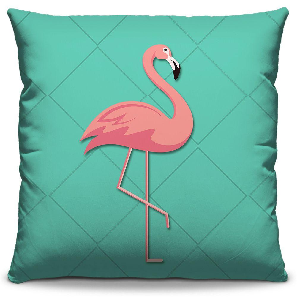 Kit Combo Capas de Almofadas Estampadas Decorativas Flamingo 01