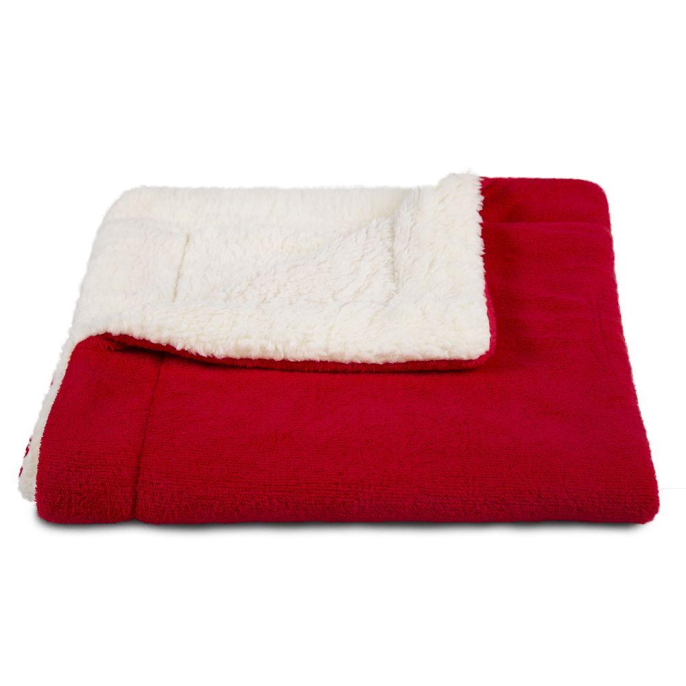 Manta Dupla Face Cobertor Cães e Gatos 80x70cm MT01