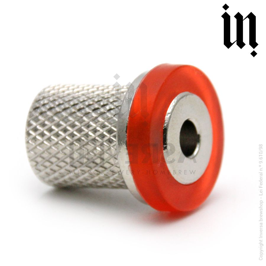 Adaptador Torneira c/ Controle de Fluxo para Ball Lock Rosca