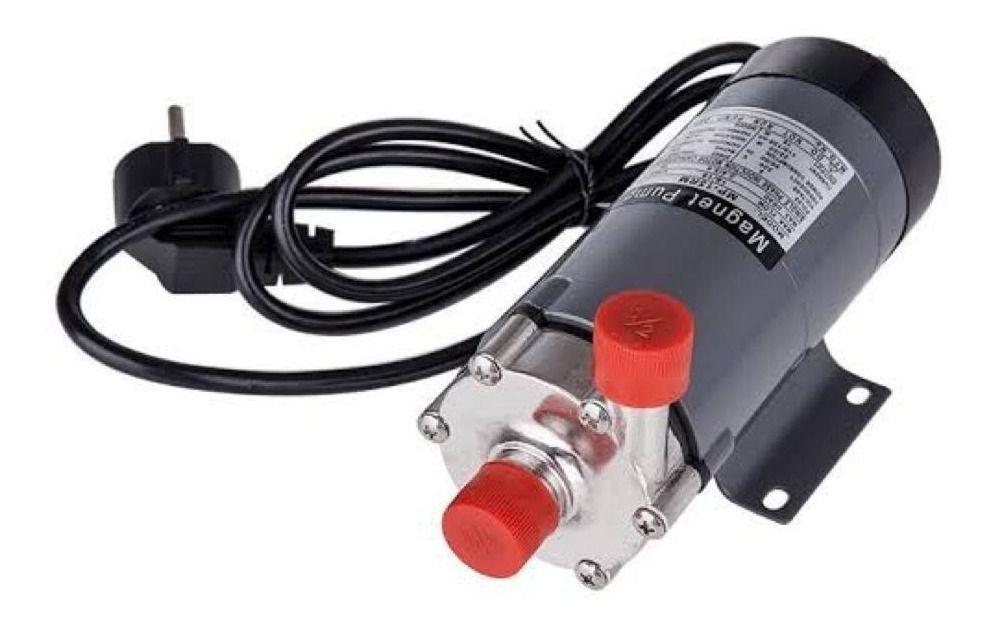 Bomba Magnética Cerveja Recirculação Cabeça Inox 110v Mp-15r