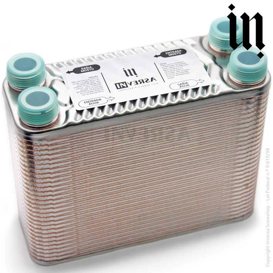 Chiller 60 Placas (Trocador de calor) Conexões 3/4