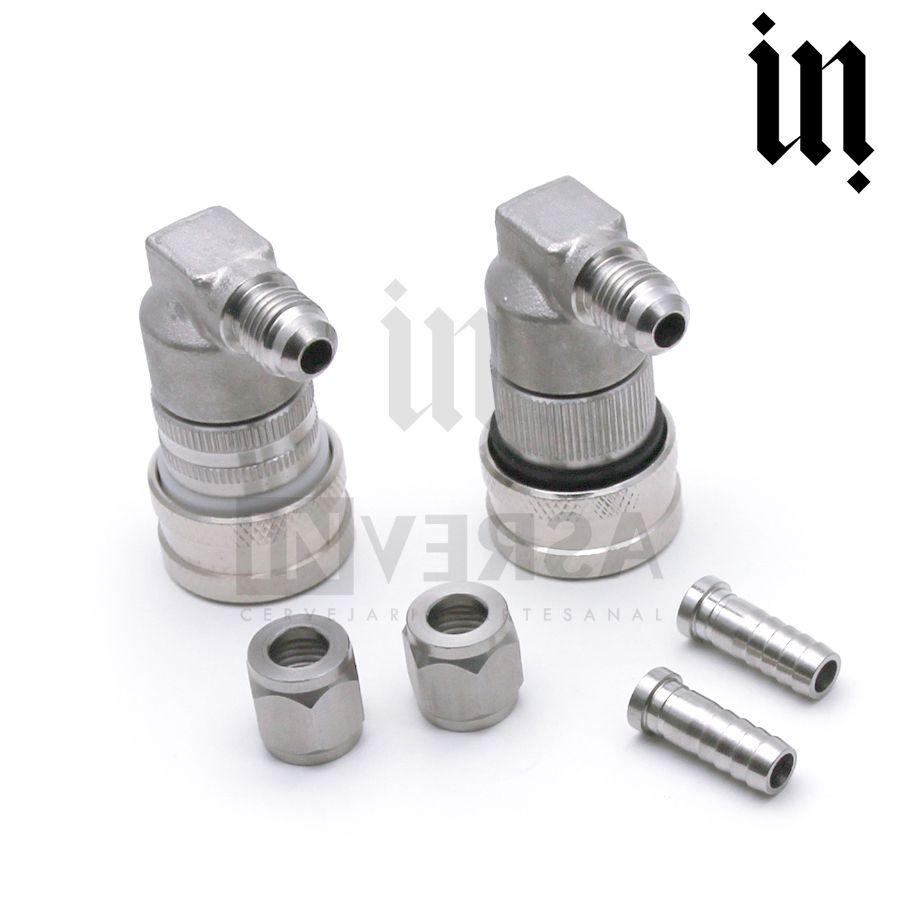 Kit Conector ball lock Inox 304