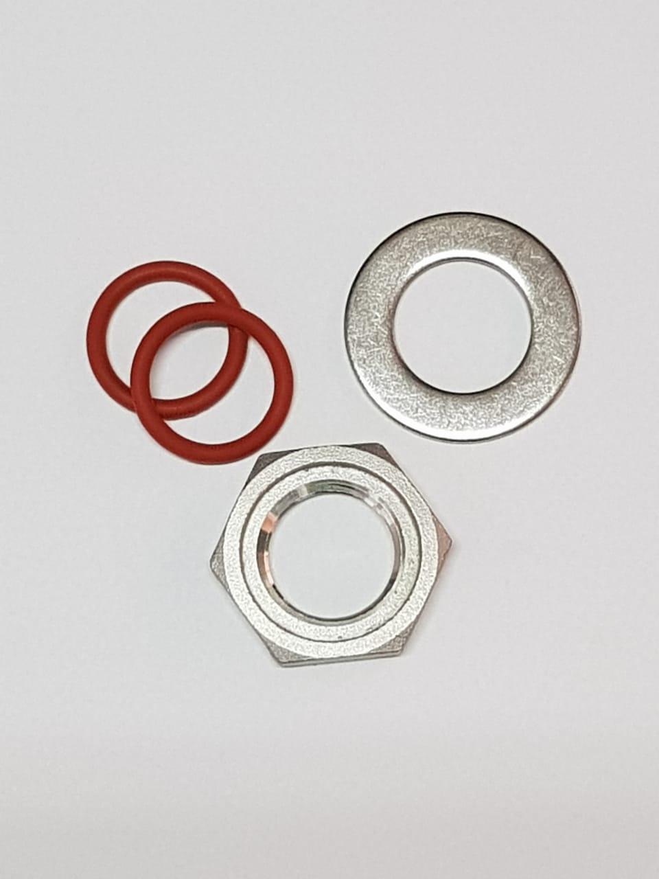 Kit Porca Inox 304 1/2