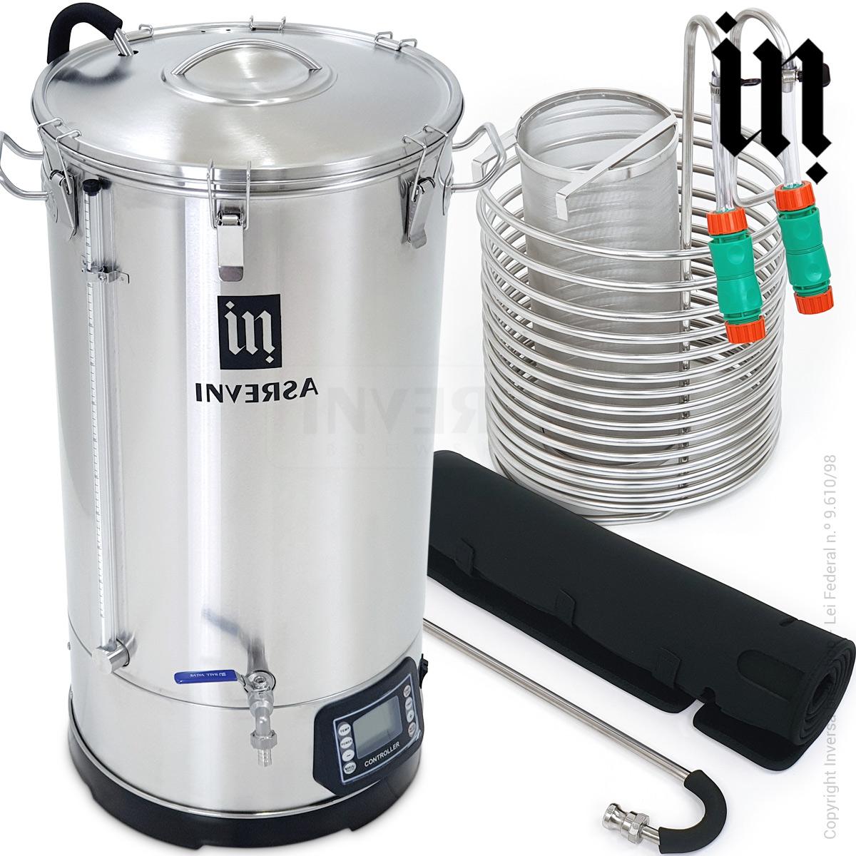 MicroCervejaria Inversa 70 litros (Single Vessel) - Deluxe 2021