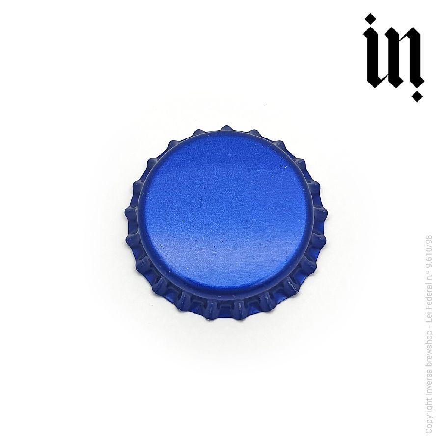 Tampinha Pry Off Azul (Pacote c/ 100 und.)