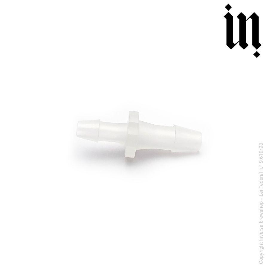 União Redutora Mangueira 7,5mm p/ 5,5mm Plastico