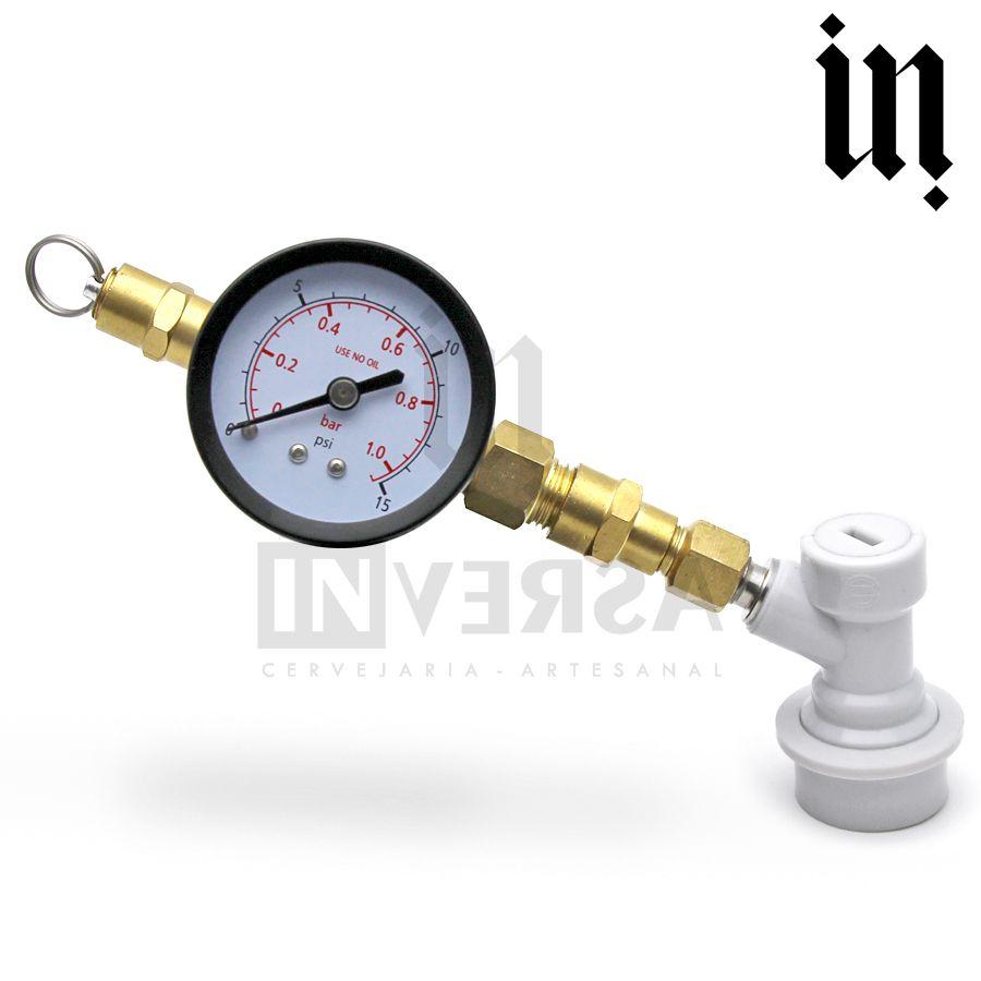 Válvula De Alivio Regulável - Fermentação / Carbonatação