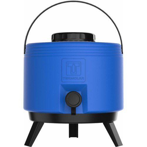Botijão Térmico 6 Litros com Torneira Azul Termolar