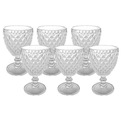 Conjunto de Taças para Vinho 6 Peças 150ml Mimo Style