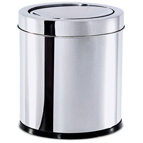 Lixeira Inox Com Tampa Basculante 5,4 Litros Brinox