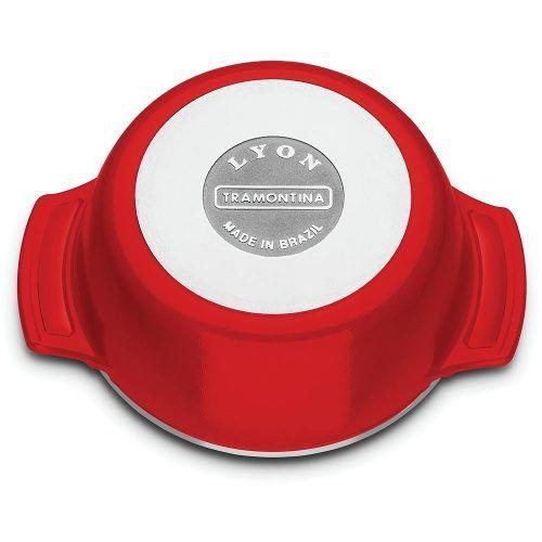 Caçarola Lyon Cocotte 14cm Vermelho Tramontina