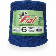 Barbante 717m Cor 59 Azul Royal N6 Fial