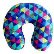 Almofada Fun Relax Estampada 30cmx30cm Pescoço Hiper Textil
