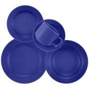 Aparelho de Jantar Donna 30 Peças Azul Oxford