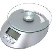 Balança Digital Vidro para Cozinha 5 Kg com Funções Mimo Style