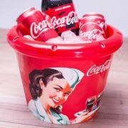 Balde Gelo Coca-Cola 5,3 Litros Plasútil