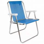 Cadeira de Praia Alumínio Alta Mor Sannet