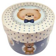 Caixa Redonda 1,2l Urso Plásutil